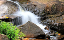 Thousand Lingas and the Great Waterfall