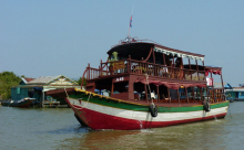 boat ride on the Tonle Sap Lake