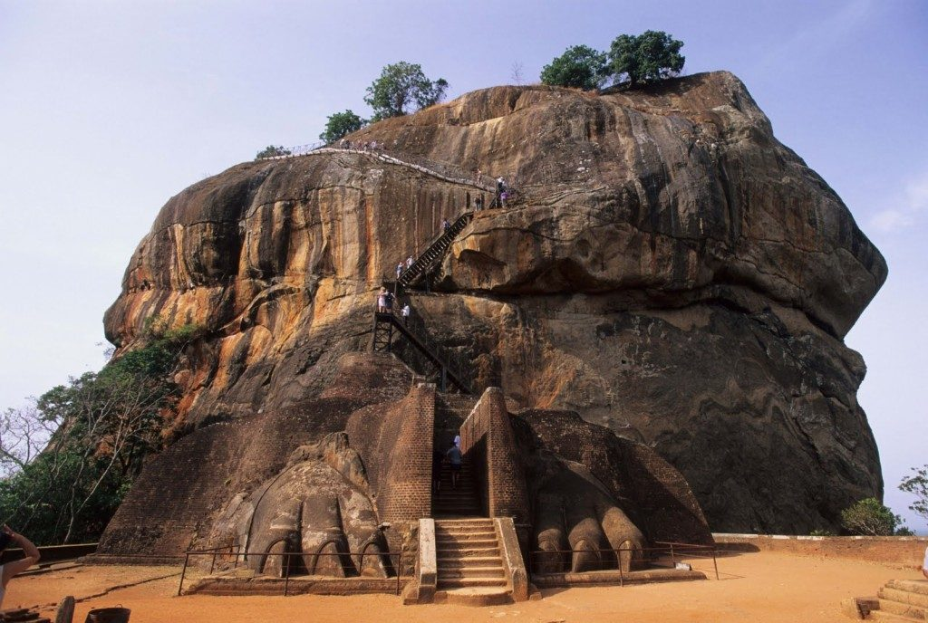 Sigiriya rock - a best place in sri lanka to do photography tour