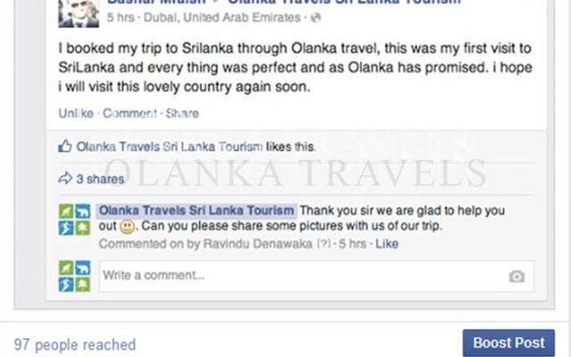 Travel Agent in Sri Lanka | Tour Operator in Sri Lanka | Olanka Travels