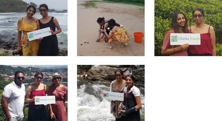 Olanka Travels Happy Client - Amarah Trip Photos