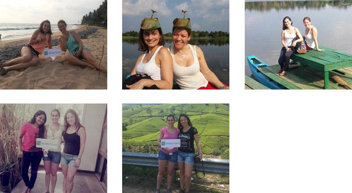 Olanka Travels Happy Client - Carla Trip Photos