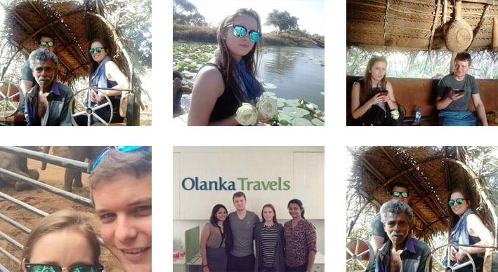 Olanka Travels Happy Client - Cindy Melissa Botes Trip Photos