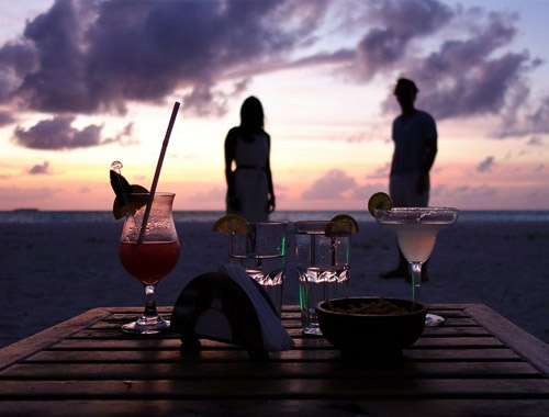 Maldives Tour Package Sunset Cocktail Sessions