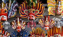 Kandy Beautiful Masks - Sri Lanka Holiday Package