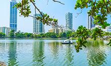 sri lanka 12 days itineraries colombo city view