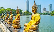 sri lanka 12 days itineraries Beautiful Gangarama Temple
