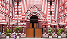 sri lanka itineraries 12 days packages red mosque in pettah