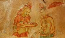 sri lanka itineraries 12 days polonnaruwa sigiriya murals