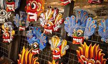 sri lanka itineraries package 12 days traditional masks kandy