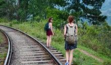 sri lanka itineraries package walking to the ella